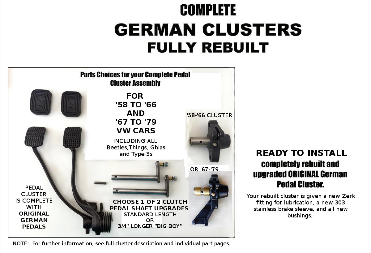 COMPLETE German Cluster REBUILD W/ UPGRADES